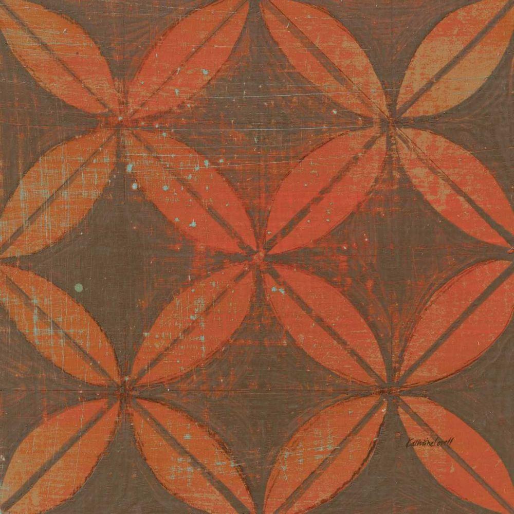 kunstdruck auf leinwand 100 baumwolle orange goldring. Black Bedroom Furniture Sets. Home Design Ideas