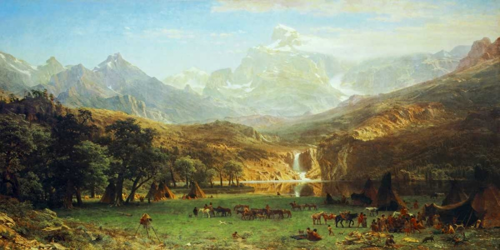 analysis albert bierstadt s rocky mountains lander s peak Albert bierstadt searching for truth and beauty using the classical tools of learning our picture study home  rocky mountains, lander's peak, 1863, week 28 (click to enlarge) looking down yosemite valley, california, 1865 week 29 (click to enlarge) among the sierra nevada mountains, 1868.