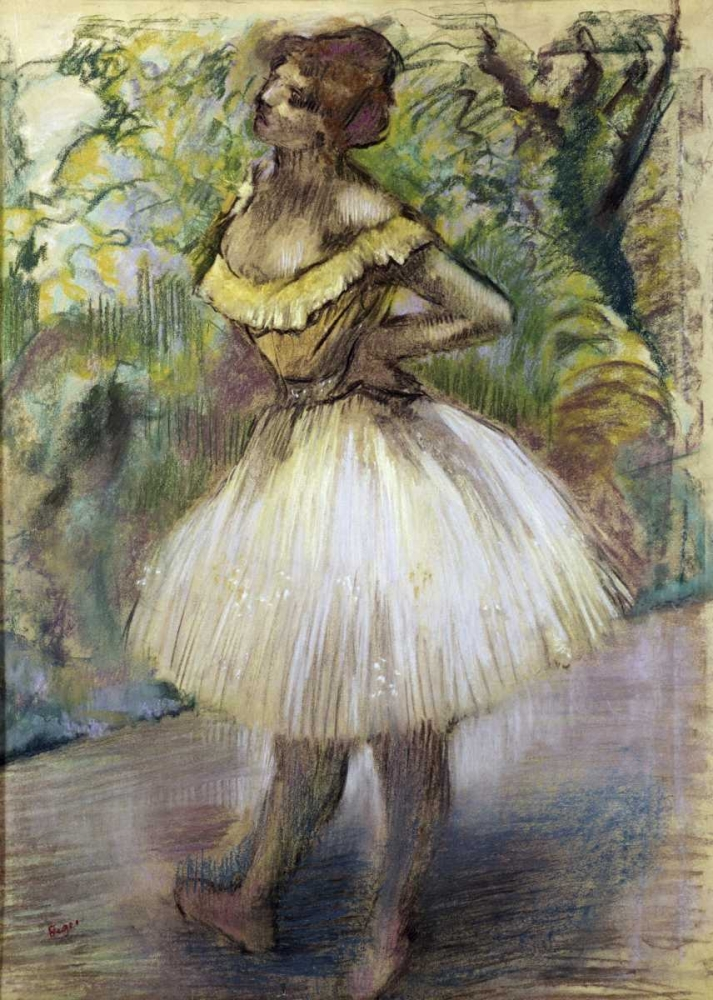 biographies of painters edgar degas and auguste rodin This charming hand-painted figurine inspired by edgar degas's painting l'attente  (waiting) has been individually crafted by experienced and highly skilled.