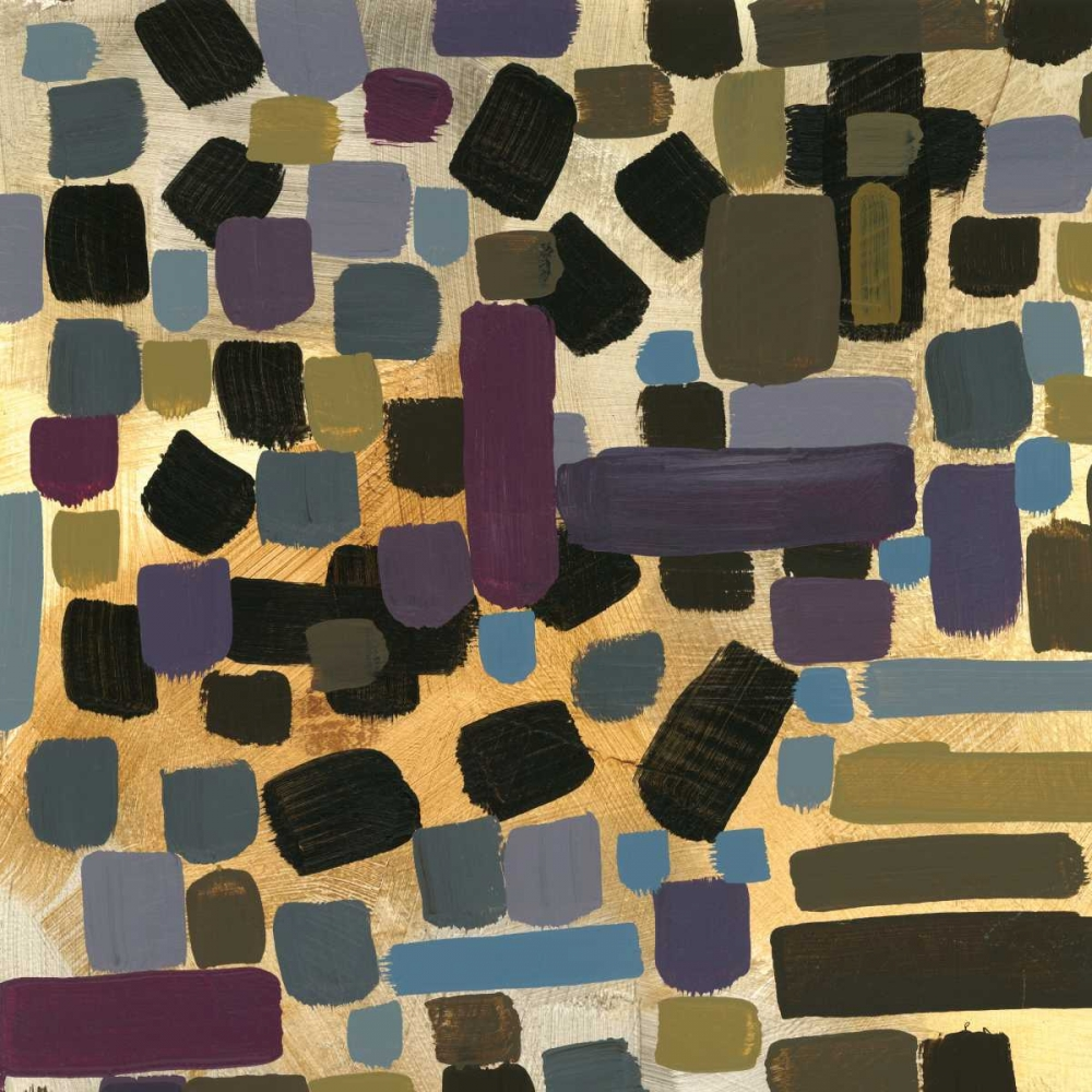 Art Imprimé-sur-Papier-ou - toile-Stones-Throw-I - Abstrait-Pression-Poster-Art - B