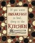 Breakfast Kitchen Brown