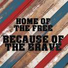 Because of the Brave - Allen Kimberly