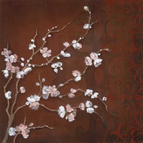 Cherry Blossoms on Cinnabar II -  Tava Studios