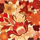 Vermilion Garden II -  Tava Studios