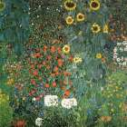 Farm Garden with Sunflowers, 1906 - Gustav Klimt
