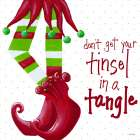 Tinsel In A Tangle on Dots - Gina Ritter
