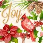 Bright Christmas Cardinal III - Janice Gaynor