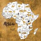 Africa Map - Patricia Pinto