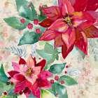 Holiday Poinsettia II - Patricia Pinto
