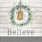 Believe Bell Wreath - Patricia Pinto