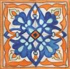 Colorful Tile II - Elizabeth Medley