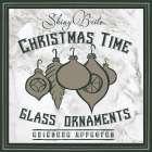 Taupe Christmas Sign IV - Elizabeth Medley