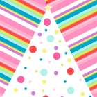 Whimsical Pink Striped Tree -  SD Graphics Studio