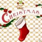 Gold Christmas Cheer I - Andi Metz