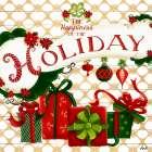 Gold Christmas Cheer II - Andi Metz