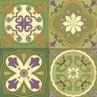 Fresh Herb Tiles Square