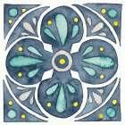 Garden Getaway Tile VI Blue