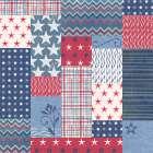 Stars and Stripes Dark Pattern VII - Beth Grove