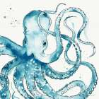 Deep Sea VIII Teal - Anne Tavoletti