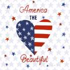 America the Beautiful II Square - Farida Zaman