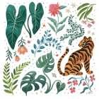 Jungle Love V White