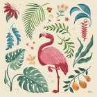Jungle Love VI Cream - Janelle Penner