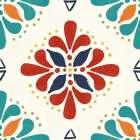 Tex Mex Fiesta Pattern VIIA
