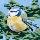 Painterly Bird II - Emma Scarvey