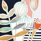 Patterned Flora I - Victoria Borges