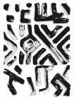 African Textile Woodcut II -  Stellar Design Studio