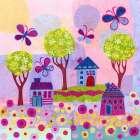 Springtime Houses