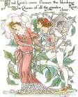 Shakespeares Garden III (Rose) - Walter Crane