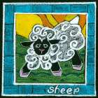 Whimsical Sheep