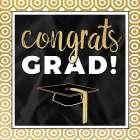 Congrats Grad! In Gold - Aubree Perrenoud