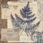 Blue Fern Stamp
