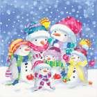 Snow Family III -  A.V. Art