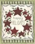 Happy Holidays Wreath