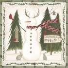 Woodsy Woodland Snowman