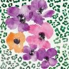 Flowers on Spots - Linda Woods