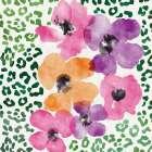 Flowers on Spots II - Linda Woods