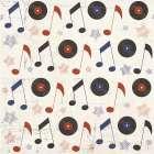 Rock and Roll Americana Pattern III -  ND Art