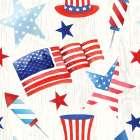Americana Pattern II -  ND Art