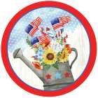 Americana Plate -  ND Art