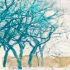 Turquoise Trees I