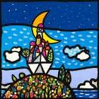 Barca sulla collina