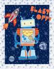 Blast Off Robot
