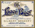 Gilbert Brewery Lager Beer