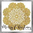 Merry Christmas Mandala   - Cindy Jacobs