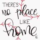 No Place Like Home Plate -  Fearfully Made Creations