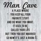 Man Cave -  Fearfully Made Creations